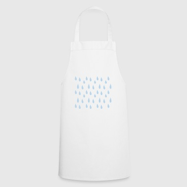 raindrops - Cooking Apron