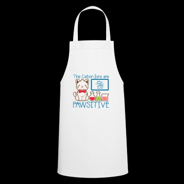Funny cat shirt Kitty Cat Cool gift - Cooking Apron