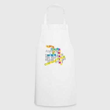 communication - Cooking Apron
