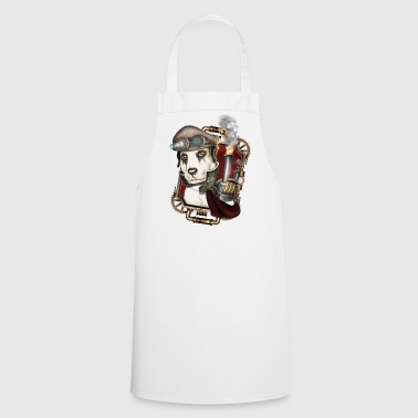 Steampunk Dog # 1 - Tablier de cuisine