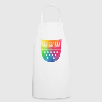 Cologne coat of arms Rainbow - Cooking Apron