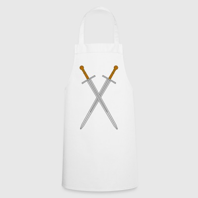 Two crossed swords - Cooking Apron