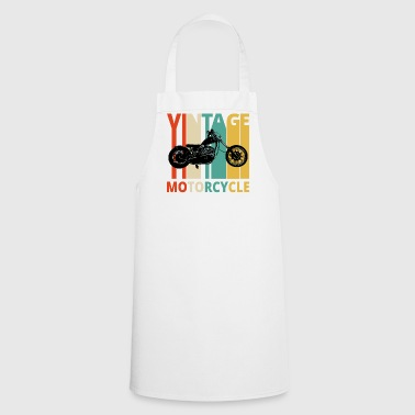 Vintage Motorcycle Gifts for the wild. Dad,grandad - Cooking Apron