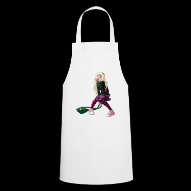 manga girl - Cooking Apron