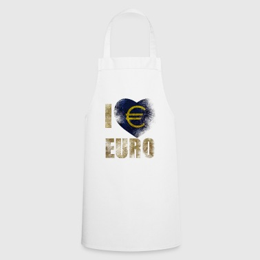 EURO I love Euro - Cooking Apron