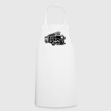Firefighter Fire Truck / Firefighter Truck 01_sch - Cooking Apron