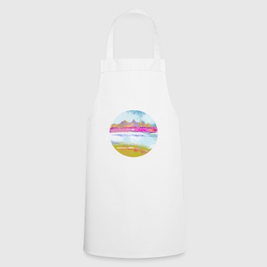 Landscape painting design - Cooking Apron