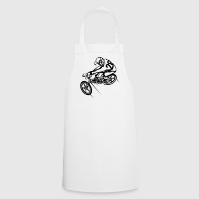 BMX Bicycle / Bike 01_black - Cooking Apron