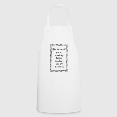 somebody - Cooking Apron