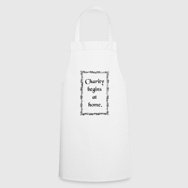 charity - Cooking Apron