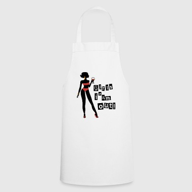 Girls I'm out! Holiday bikini gift idea - Cooking Apron