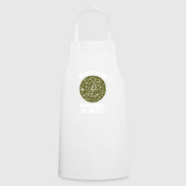 music my world - Cooking Apron