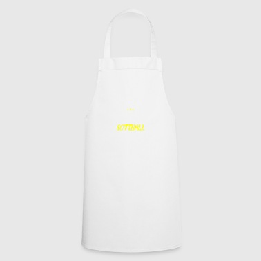 Distressed - BEST SOFTBALL SISTER - Cooking Apron