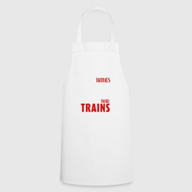 Railroad - Trains are the most important things - Cooking Apron