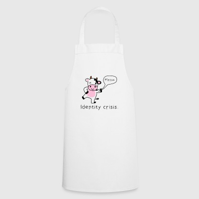 Gift cow funny irony - Cooking Apron