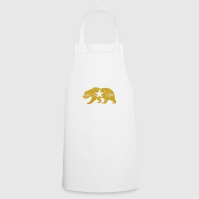 Californie Golden State Ours - Tablier de cuisine