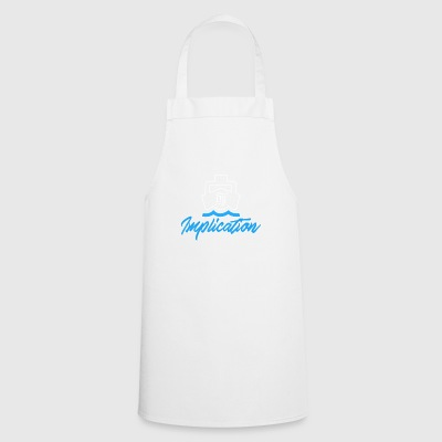 The Implication Black Boat - Cooking Apron