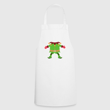 Christmas Elf Costume - Cooking Apron