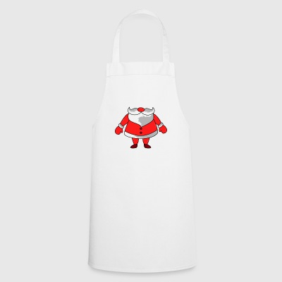 Christmas Santa Costume - Cooking Apron