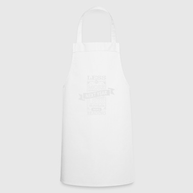 Good intent gift television reading book - Cooking Apron