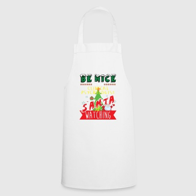 Clinical Psychologist Christmas Gift Idea - Cooking Apron