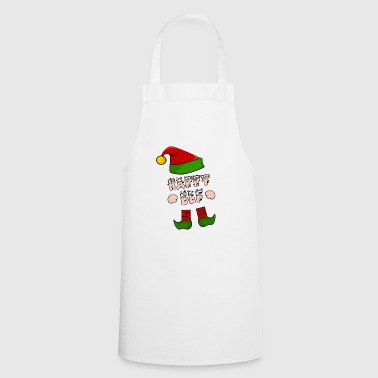 Happy Elf - Happy Elf - Xmas Gift - Cooking Apron