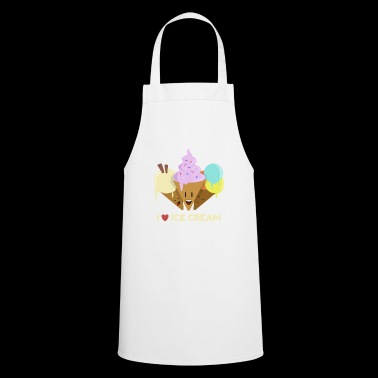 I Love Ice Cream T-shirt - Cooking Apron