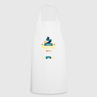 Best Writers are Born in April Gift Idea - Cooking Apron