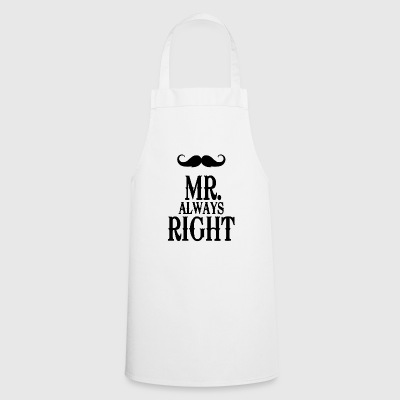 mister always right - Cooking Apron