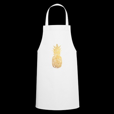 gold pineapple - Cooking Apron