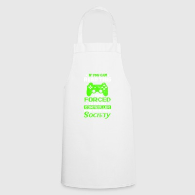 Shirt for gamers - had to stop gambling - Cooking Apron