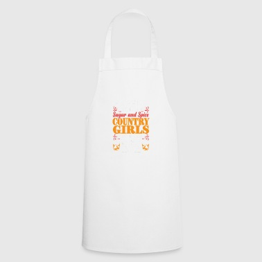 Country Whiskey Girl Gift - Cooking Apron