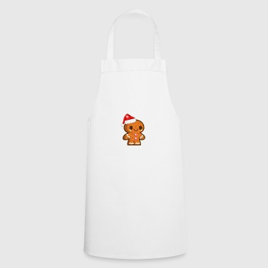 Gingerbread Christmas t-shirt gift - Cooking Apron