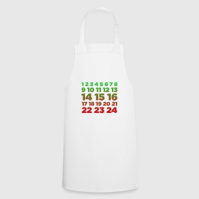 Advent Calendar Color Christian Christmas Season - Cooking Apron