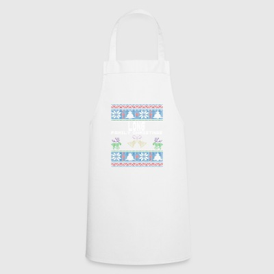 Ugly Long Christmas Family Vacation Tshirt - Cooking Apron