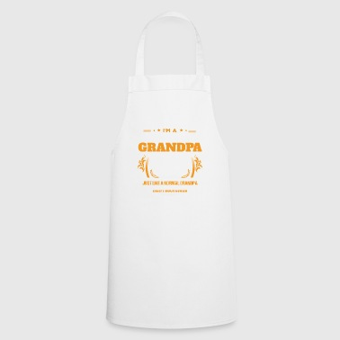 Drummer Grandpa Shirt Gift Idea - Cooking Apron