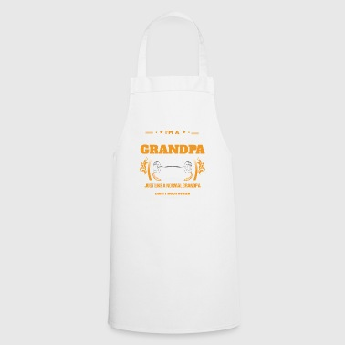 Body Building Grandpa Shirt Gift Idea - Cooking Apron