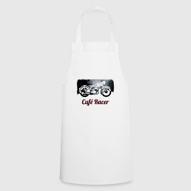 cafe racer bike motorcycle vintage old group biker - Cooking Apron