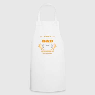 Body Building Dad Shirt Gift Idea - Cooking Apron