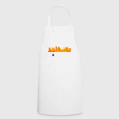 Vintage Retro Houston Texas - Cooking Apron