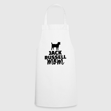 jack russel mom - Cooking Apron