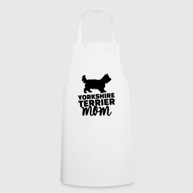 yorkshire terrier mom - Cooking Apron