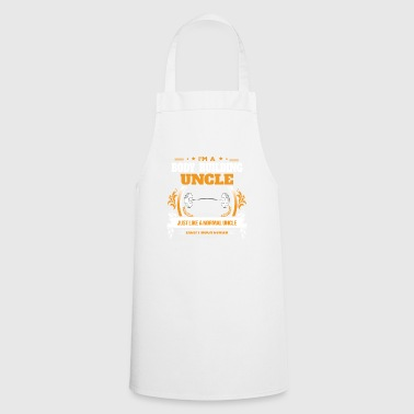 Body Building Uncle Shirt Gift Idea - Cooking Apron