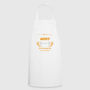 Body Building Aunt Shirt Gift Idea - Cooking Apron