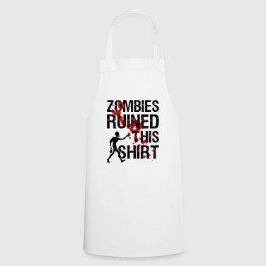 Zombies ruined this shirt | Undead march! - Cooking Apron