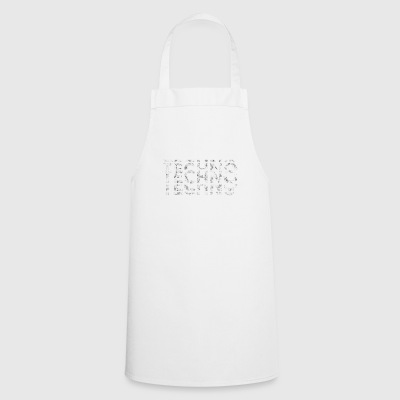 Techno Music Bass Shirt - Cooking Apron