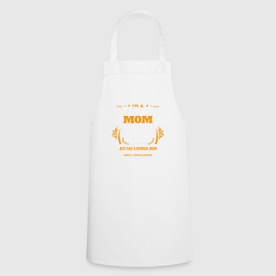 Scuba Diving Mom Shirt Gift Idea - Cooking Apron