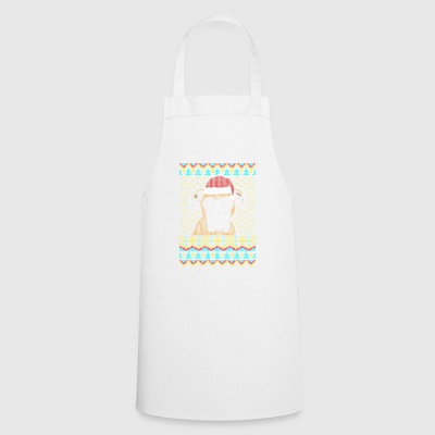 Boxer Ugly Christmas Sweater Gift - Cooking Apron