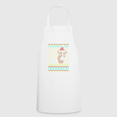 Jack Russell Terrier Ugly Christmas Sweater Gifts - Cooking Apron