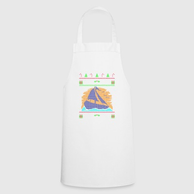 Sailing Sailboat Ugly Christmas Sweater Gift - Cooking Apron